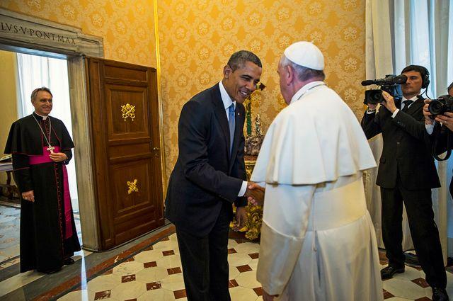Le pape a rencontré le président américain pour la première fois
