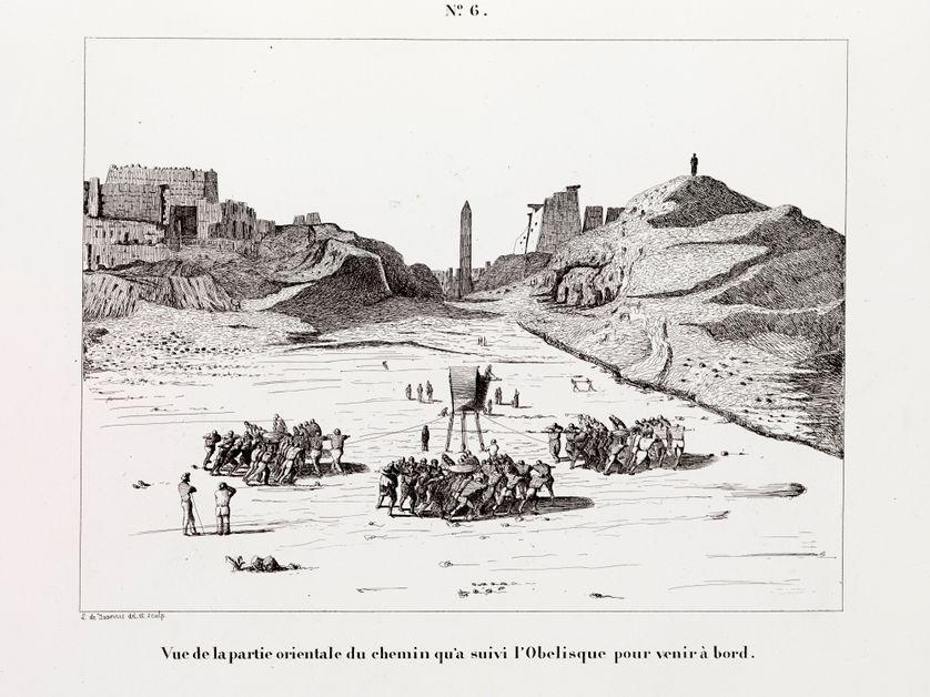 L'obélisque de Louxor à Paris