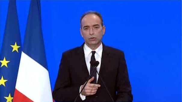 Jean-François Copé lors de sa déclaration