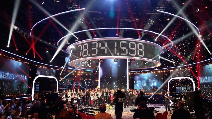 Le compteur final du Téléthon 2013