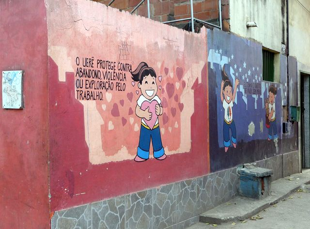 Mur à Rio