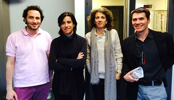 Eric Chaverou, Mariette Darrigrand, Anne Cheyvialle, Jean-Marc Four