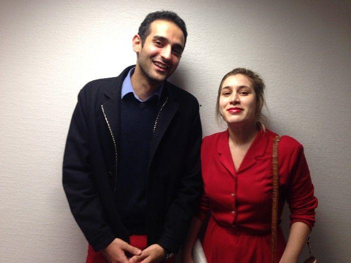"""Ali et Marie-Pierre, étudiants du master """"Affaires européennes"""""""