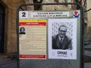 Affiche élections municipales 2014