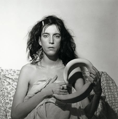 Patti Smith par Mapplethorpe 1978