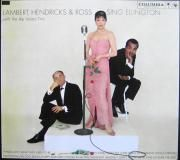"L'album "" Lambert, Hendricks and Ross sing Ellington "" LABEL RHINO R270328"