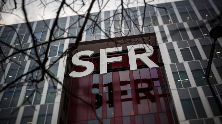 Le campus SFR, siège du groupe, à Saint-Denis