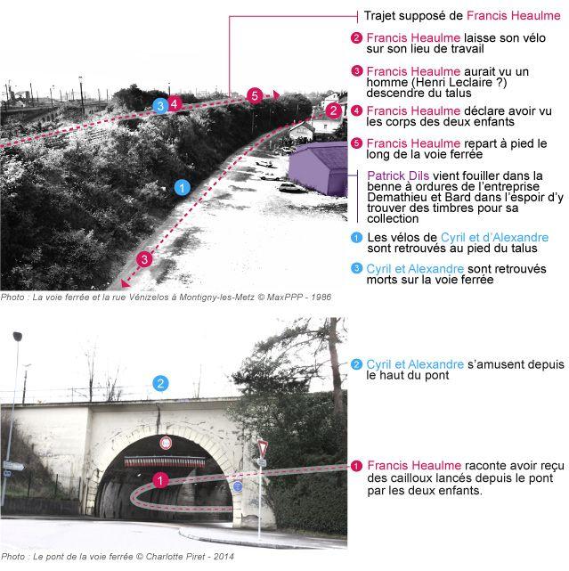 Affaire Montigny-les-Metz : les lieux du crime