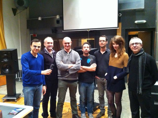 Bertrand Burgalat, Emmanuel Favreau, DIego Losa, Rodolphe Alexis, Pierre-Yves Macé, Blandine Rinkel et Christian Zanési