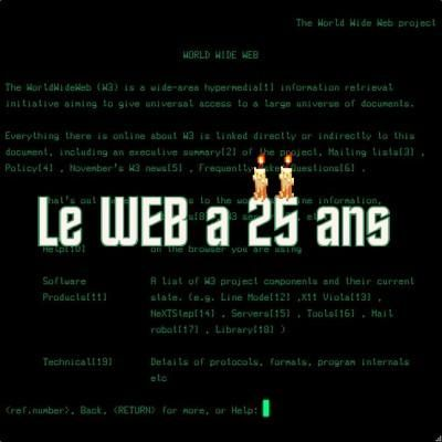 Le World Wide Web a 25 ans