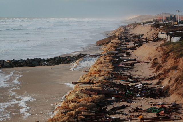 La bande de sable de Lacanau ravagé ?