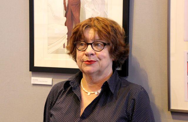 Florence Cestac au Salon du livre