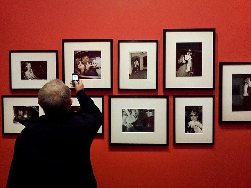 """Pixel people. Visite de l'exposition """"Paparazzi"""", au Centre Pompidou Metz"""