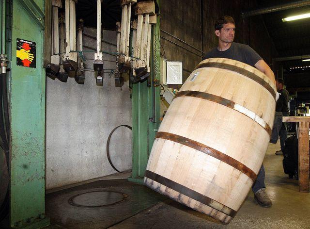 Les tonnelleries Vicard à Cognac