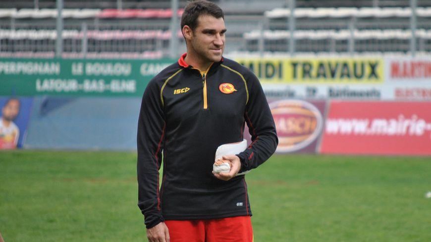 Thomas Bosc, joueur des Dragons Catalans