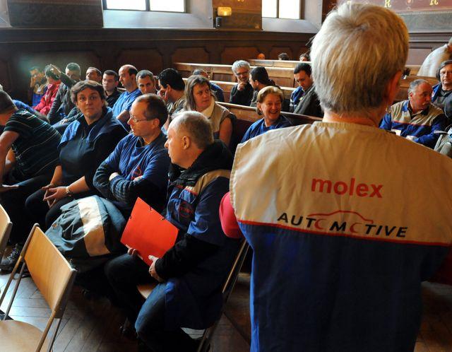 Les Molex retournent aux prud'hommes de Toulouse