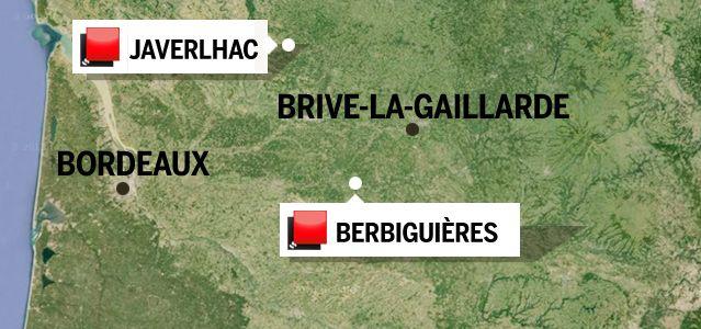 Carte du jeu des 1000 euros - Dordogne ok