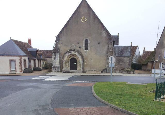 Auzouer-en-Touraine, l'église Saint Martin