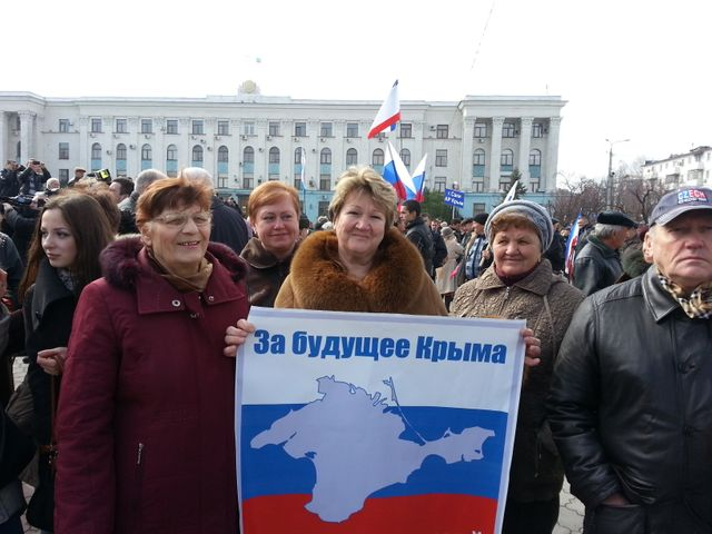 Manif pro russe