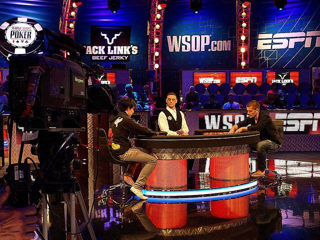 le poker à télévision américaine