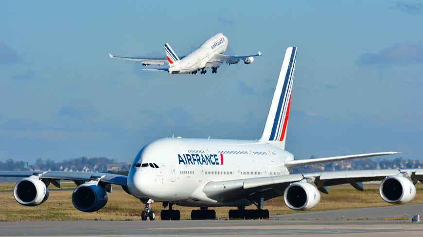 Roissy avion A380 / 747