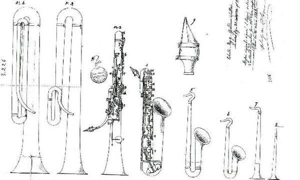 image saxophone