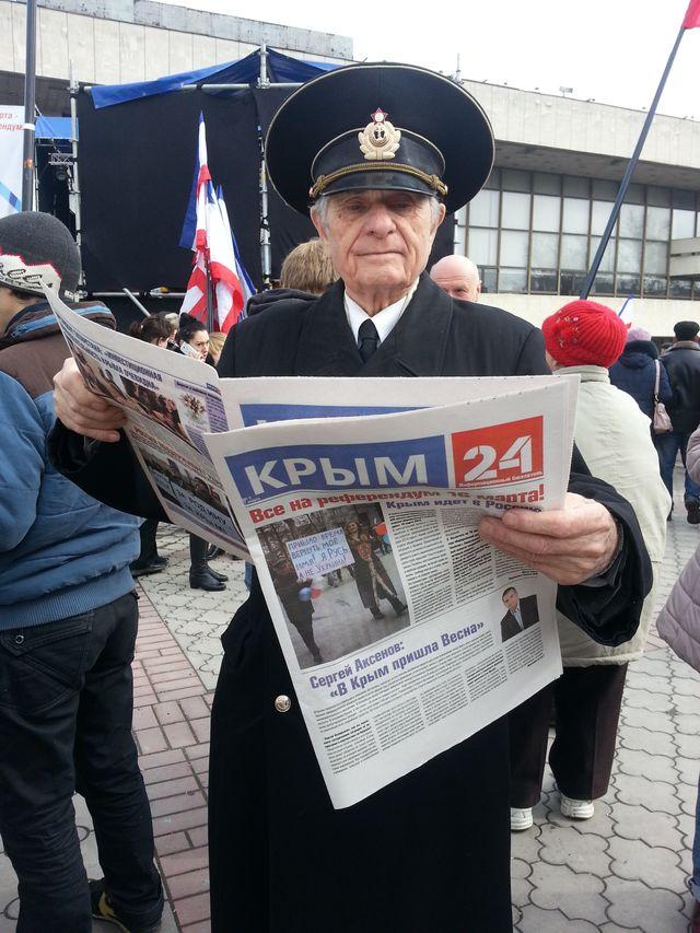 Pro russe en Crimée