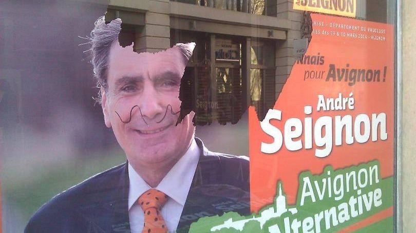 Le local d'André Seignon a été saccagé