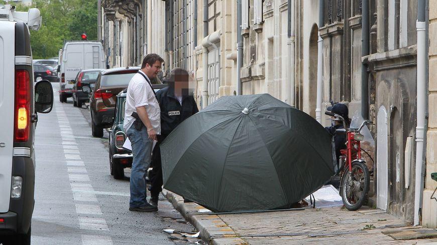 Le drame avait eu lieu en pleine rue de Soissons vers 9h30 ce 12 juin 2012