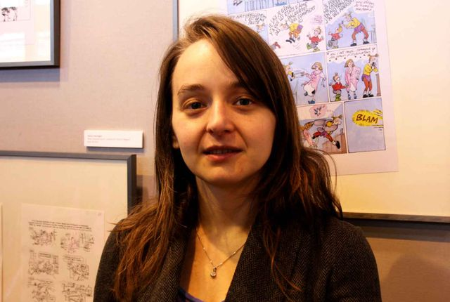 Marion Montaigne au salon du livre