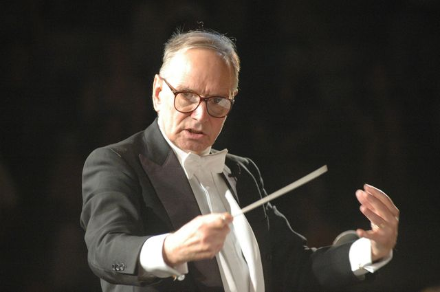 Ennio Morricone dirige