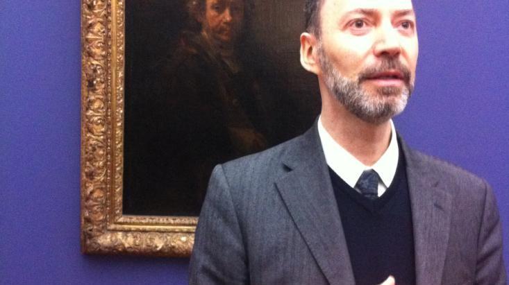 Guy Tosatto, directeur du musée de Grenoble.