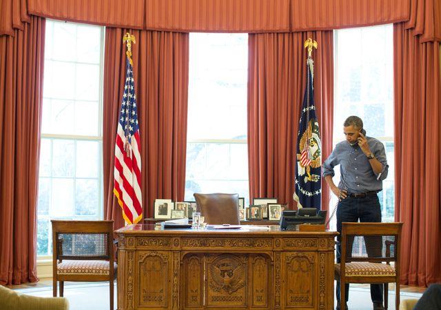 Crise en Crimée : Obama appelle Poutine