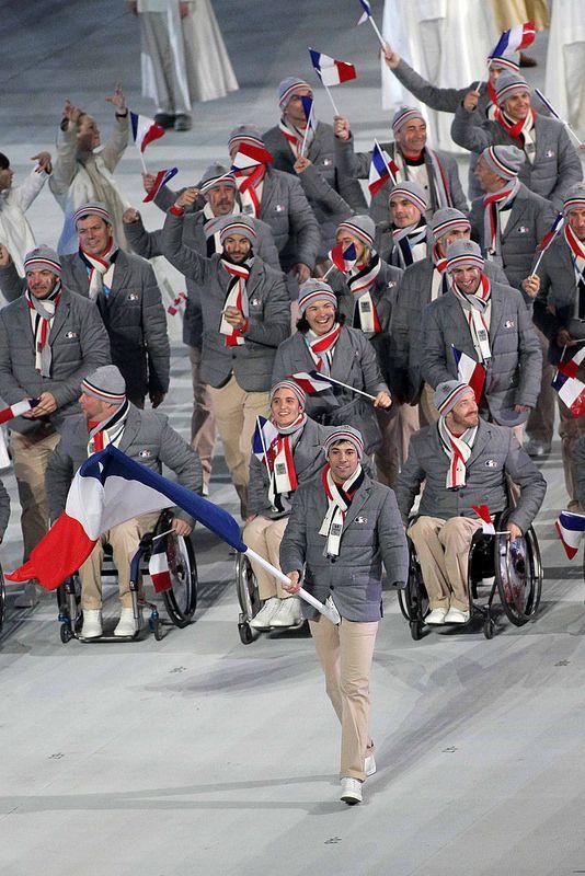 Equipe de France JO Paralympique 2014