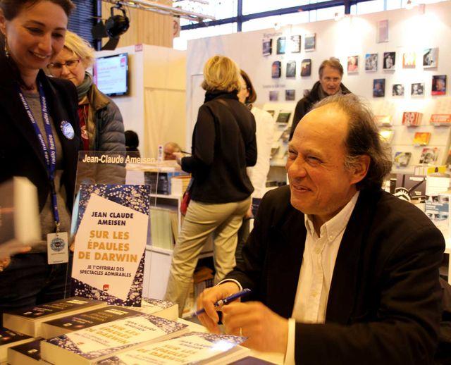 JC Ameisen au Salon du livre