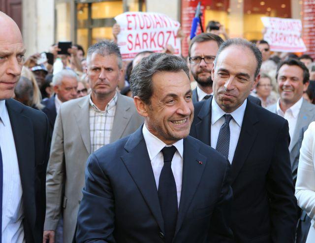 Sarkozy et Copé le 8 juillet 2013