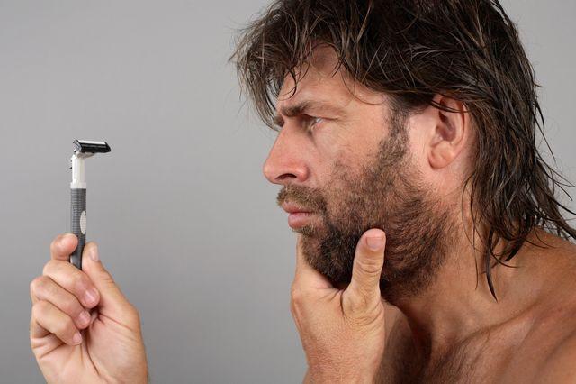 rasoir barbe
