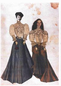M Ferraro E Swiercz - costumes Christian Lacroix