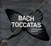 CD Amandine Savary  J.S. Bach, Toccatas Muso Mu 007