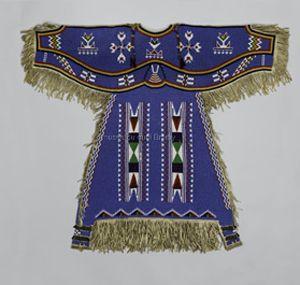 Robe de femme vers 1900