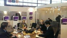 C. Quenan, P. Lamy, C. Ockrent, F. Godement, E. Chol, en direct du Salon du Livre, 22 mars 2014