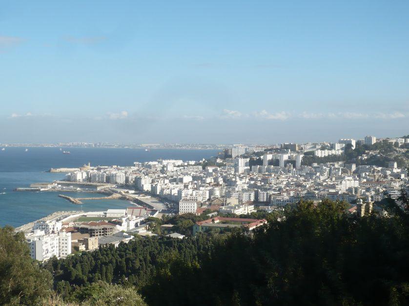 Alger, la baie