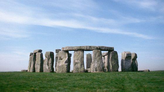 Le monument mégalithique Stonehenge (Angleterre) - ©Corbis