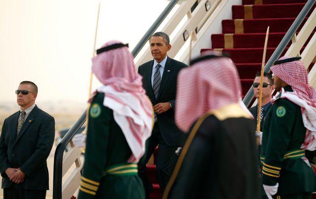 Obama en Arabie saoudite