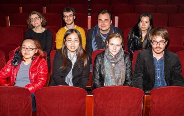 Au 1er rang de gauche à droite : Jahye Euh, Yukyeong Ji, Kathrin Isabelle Klein, Imri Talgam.  Au 2ème rang : Aline Piboule, Matthieu Acar, Matthieu Stefanelli et Le Liu.