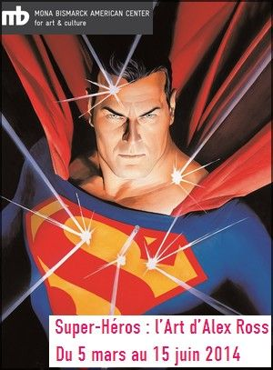Exposition Alex Ross - Centre Mona Bismarck