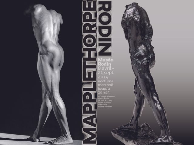 Affiche Exposition Mappelthopre Rodin