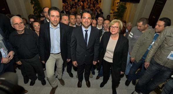 La droite gagnante à Reims