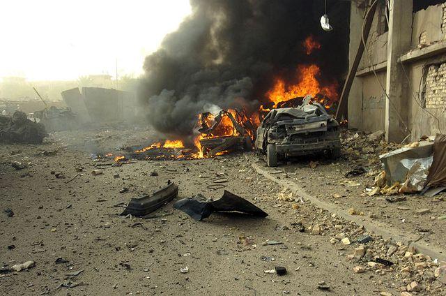 Voiture piégée en Irak