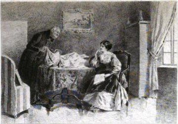 Illustration d'Albert Fourié - Madame Bovary